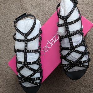 Shoedazzle Studded Gladiator Sandals